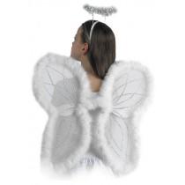ALI ANGELO CON BORDO MARABOUT H. CM 48X46 IN BUSTA