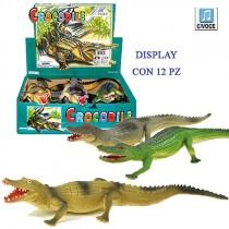 COCCODRILLO CON VOCE SFUSO 36 CM