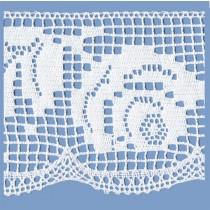MERLETTO COTONE 137 MM ECRU 10 METRI