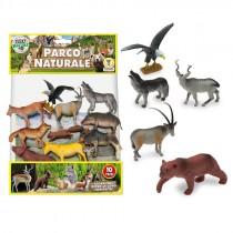 BUSTA ANIMALI DEL PARCO NATURALE 10 PZ