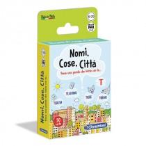 GIOCHI CARTE NOMI COSE CITTA' CLEMENTONI