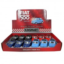 D:CAST 1:24 FIAT 500 IN DISPLAY