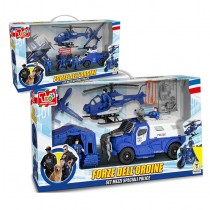 PLAYSET FORZE DELL'ORDINE 2 ASS